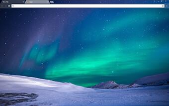 Aurora Google Chrome Theme