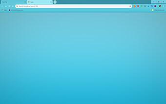 Baby Blue Google Chrome Theme