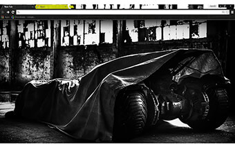 Batman Batmobile Google Chrome Theme
