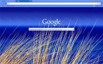 Beach Blue Google Chrome Theme