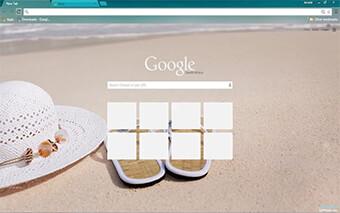 Beach Google Chrome Theme