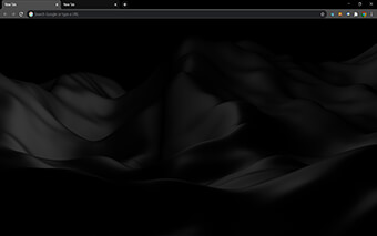 Black Silk Google Chrome Theme