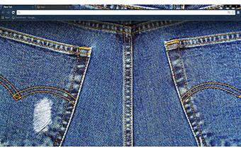 Blue Jeans Google Chrome Theme