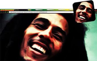 Bob Marley Smokescreen Google Chrome Theme