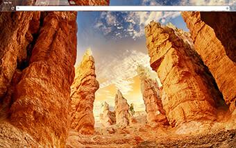 Canyon Rock Google Chrome Theme