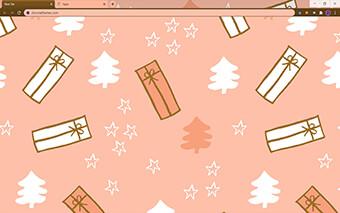 Christmas Milkshake Google Chrome Theme