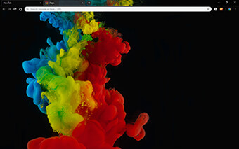 Color Abstraction Google Chrome Theme