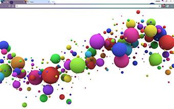 Color Splash Google Chrome Theme