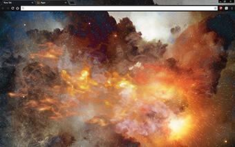 Cosmic Light Google Chrome Theme