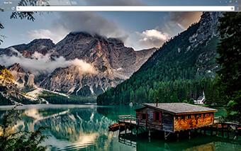 Creek Cabin Google Chrome Theme