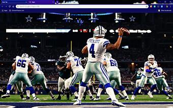 Dallas Cowboys Google Chrome Theme