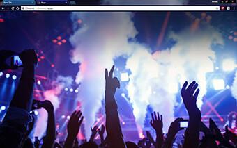 Dance Club Google Chrome Theme