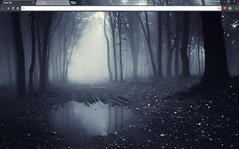 Dark Forest Google Chrome Theme
