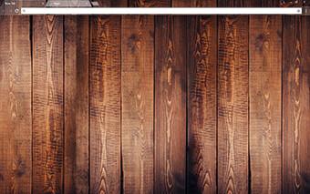 Dark Wood Google Chrome Theme