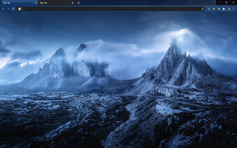 Dreamy Night Google Chrome Theme