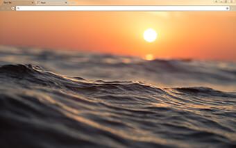 Dusky Waves Google Chrome Theme