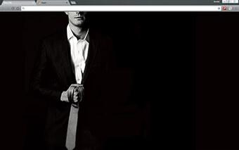 Fifty Shades Of Grey Google Chrome Theme