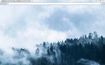 Foggy Google Chrome Theme