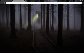 Foggy Night Google Chrome Theme