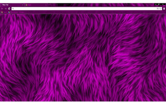Furry Purple Google Chrome Theme