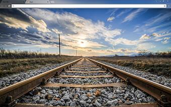 Gleise Google Chrome Theme