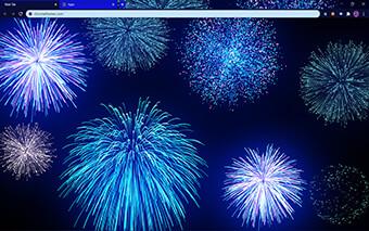 Happy New Year Google Chrome Theme