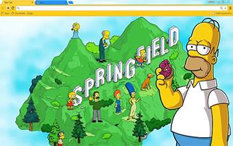 Homer Simpson Google Chrome Theme