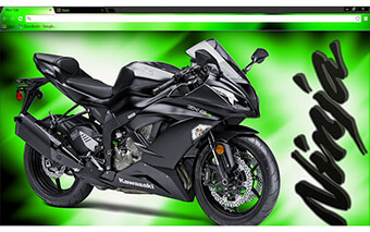 Kawasaki Ninja Google Chrome Theme
