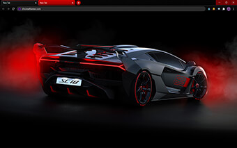 Lamborghini Alston SC18 Google Chrome Theme