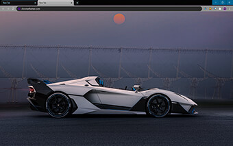 Lamborghini SC20 Google Chrome Theme