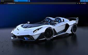 Lamborghini SC20 Roofless Google Chrome Theme