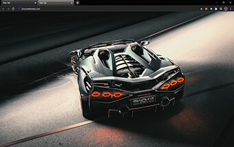 Lamborghini Si?n Roadster Google Chrome Theme