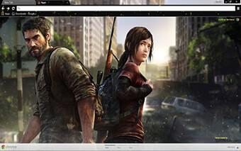 Last Of Us Google Chrome Theme