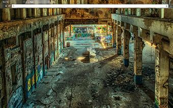 Lost Places Google Chrome Theme