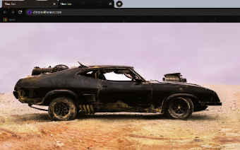 Mad Max's Interceptor - Daylight Google Chrome Theme