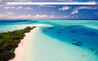Maldives Google Chrome Theme