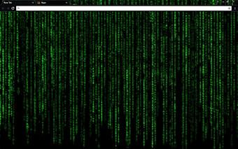 Matrix Decoded Google Chrome Theme