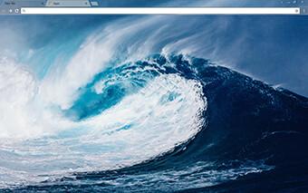 Mega Wave Google Chrome Theme