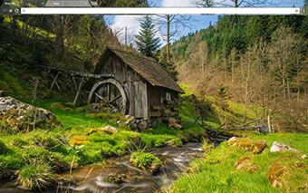 Mill House Google Chrome Theme
