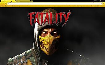 Mortal Kombat X Google Chrome Theme