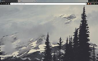 Mountain Fog Google Chrome Theme