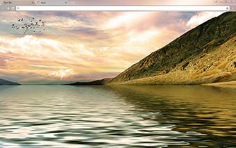 Mountain Shore Google Chrome Theme