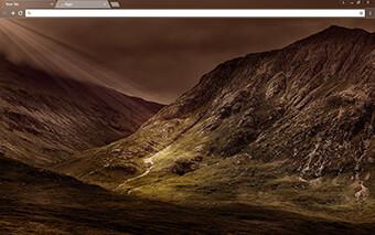 Mountains Google Chrome Theme