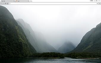 New Zealand Google Chrome Theme