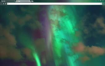 Northern Lights Google Chrome Theme