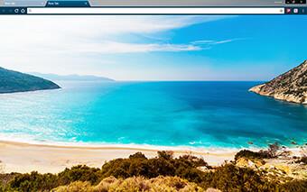 Ocean Coast Google Chrome Theme