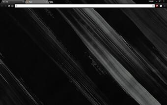 Painted Black Google Chrome Theme