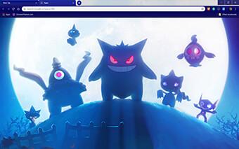 Pokemon Gen3 Google Chrome Theme