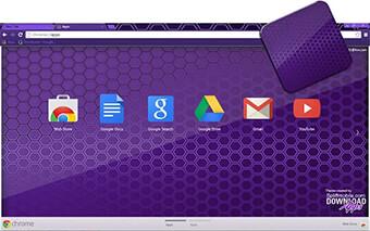 Purple Colmeia Google Chrome Theme