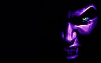 Purple Monster Google Chrome Theme